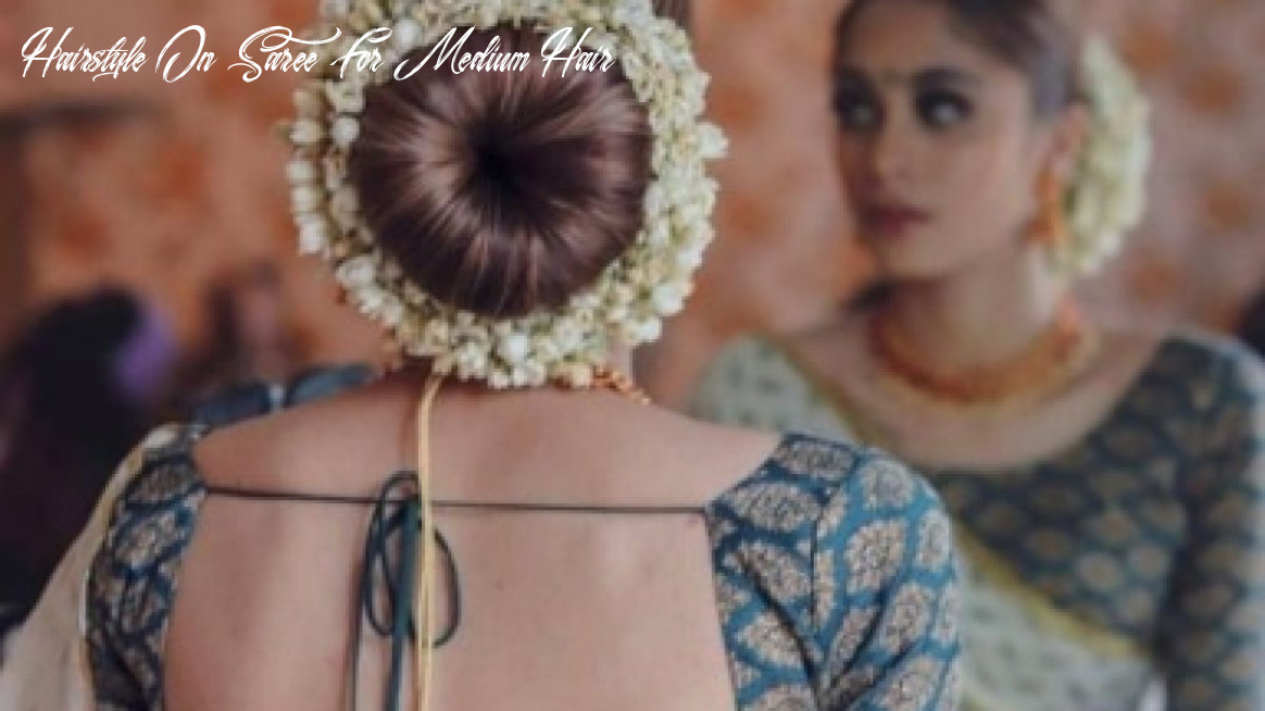11 simple indian hairstyle for saree hairstyle on saree for medium hair