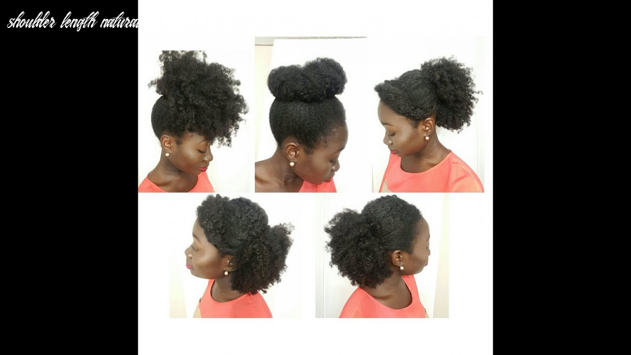 11 Simple Natural Hairstyles On Medium Length