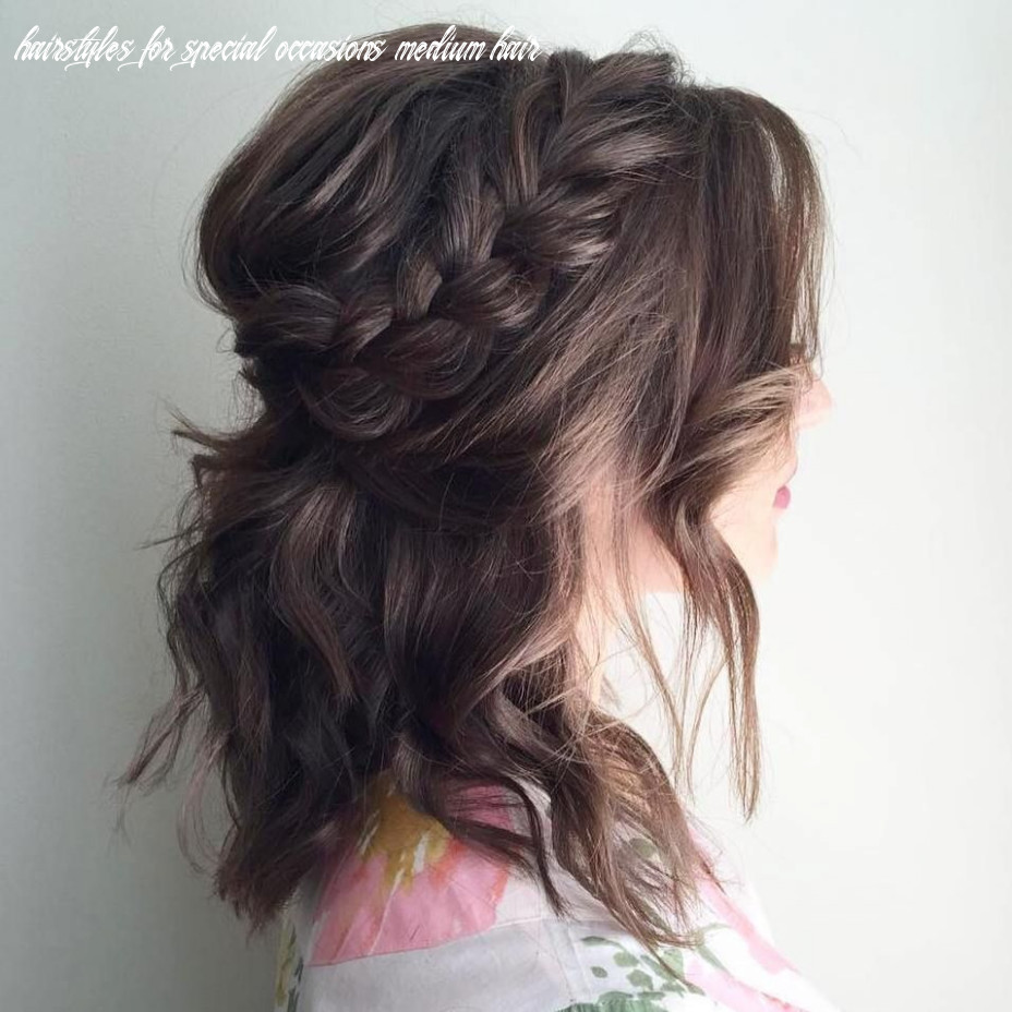 11 special occasion hairstyles | wedding hairstyles for medium