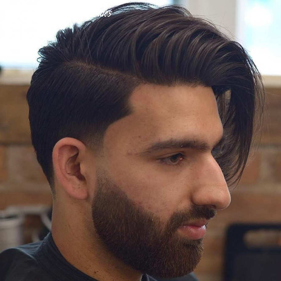 11 statement hairstyles for men with thick hair in 11 | side