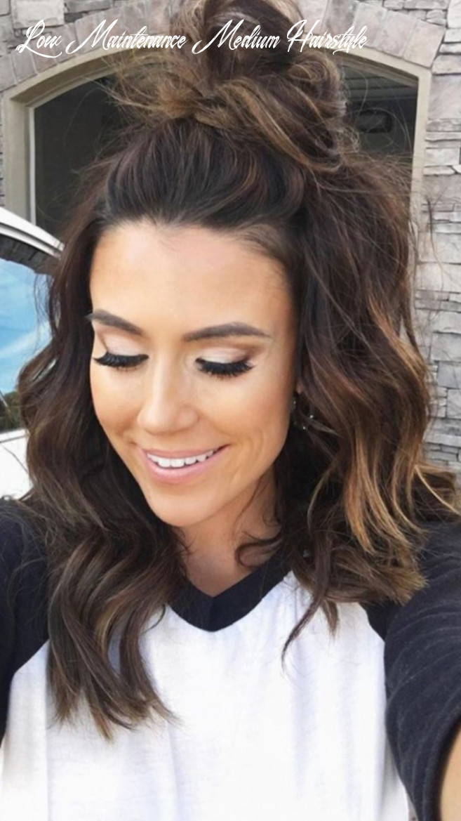 11 stunning medium length hairstyles to try now low maintenance medium hairstyle
