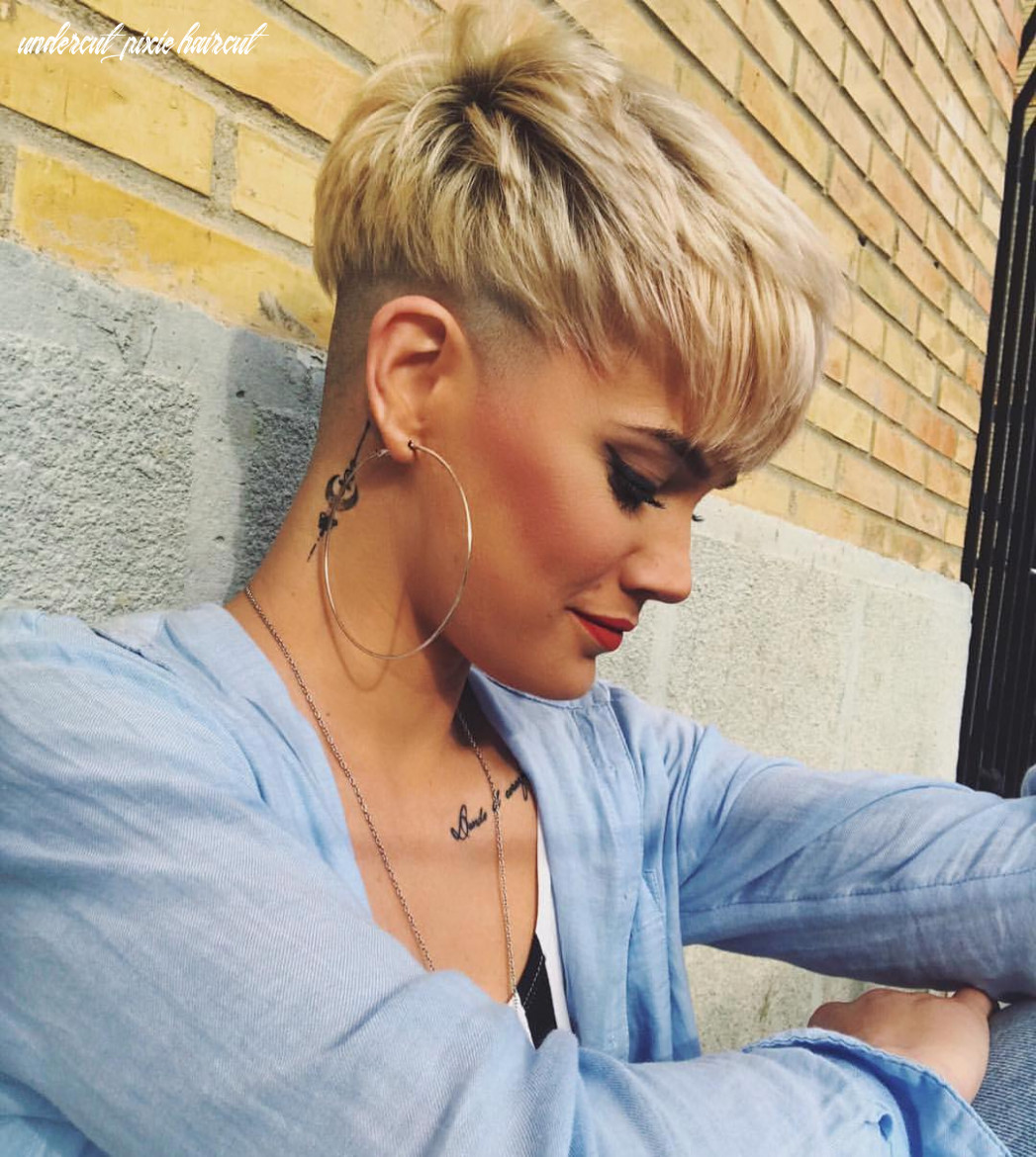 11 stylish pixie haircuts women short undercut hairstyles 11 undercut pixie haircut
