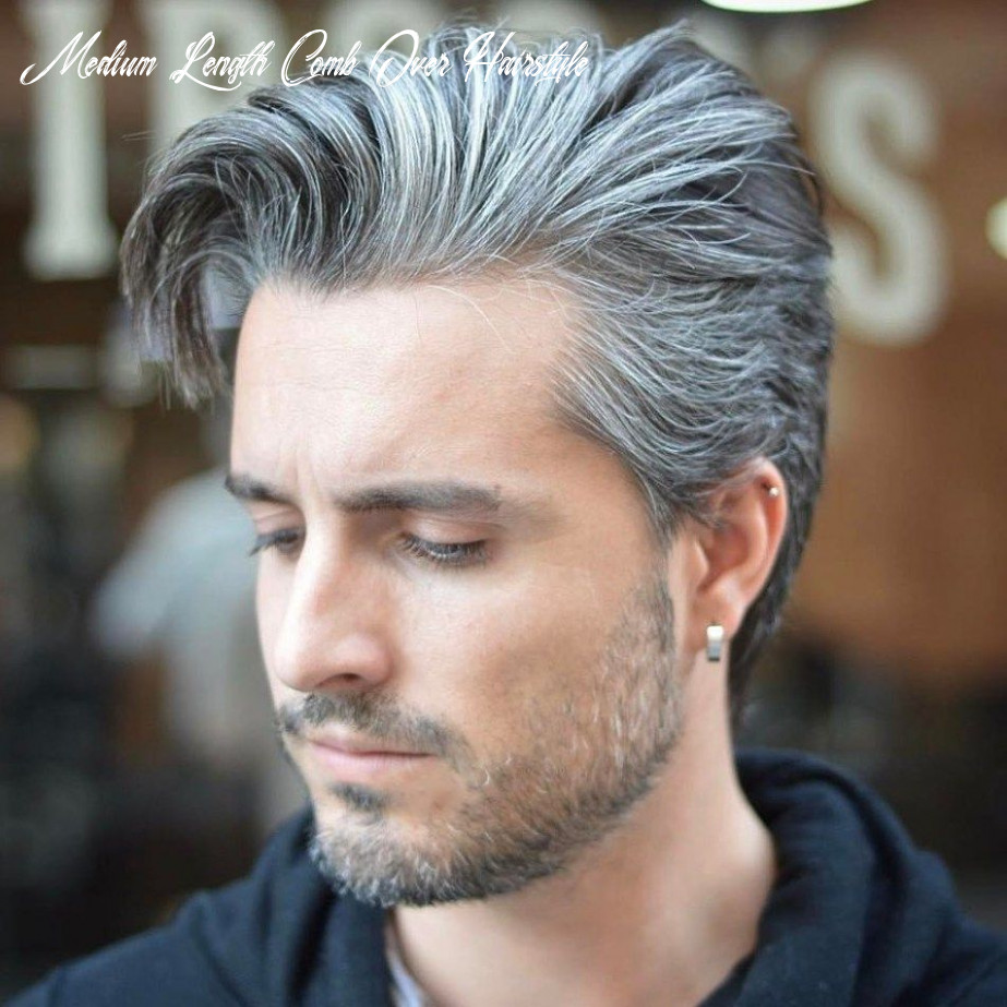 11 superb comb over hairstyles for men | grey hair men, mens