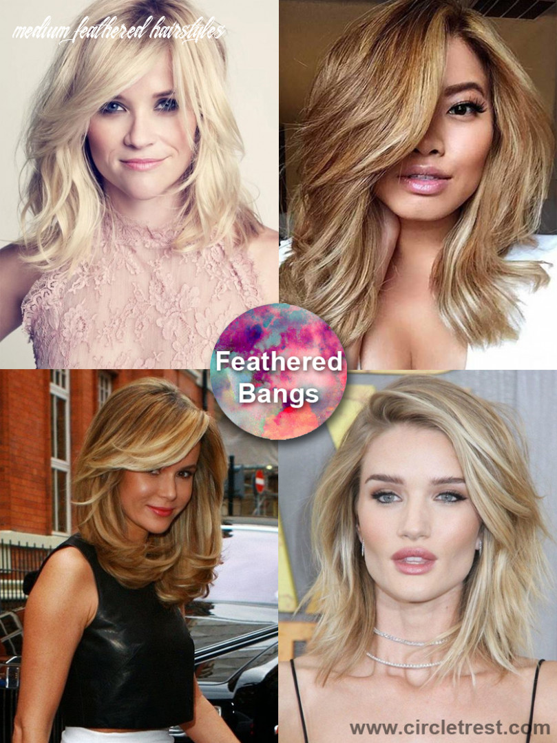 11 trendy medium hairstyles for women of all ages – circletrest medium feathered hairstyles