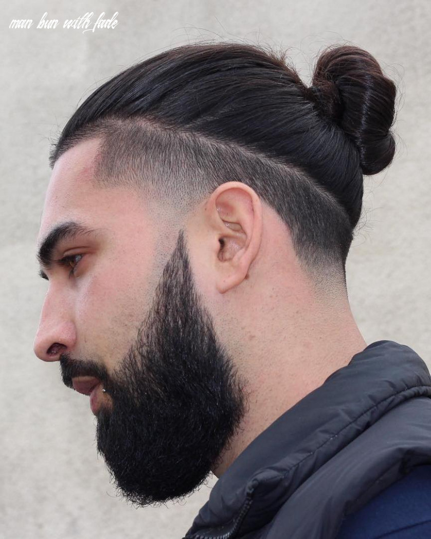 11 types of man bun hairstyles | gallery how to man bun with fade