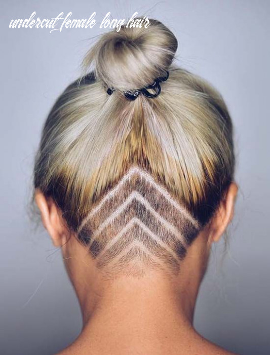 11 undercut hairstyles with hair tattoos for women with short or