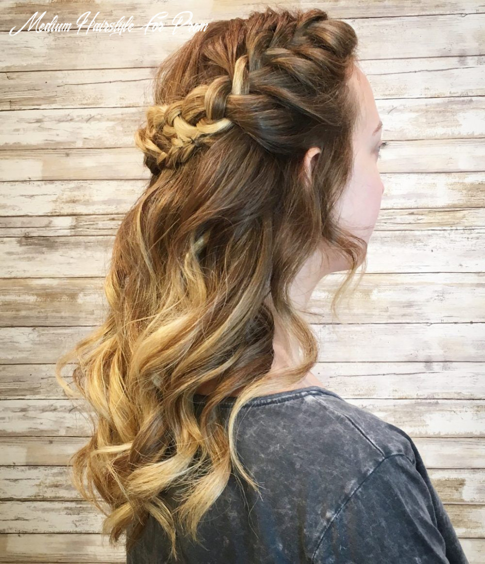 11 updos for medium length hair to inspire your prom look