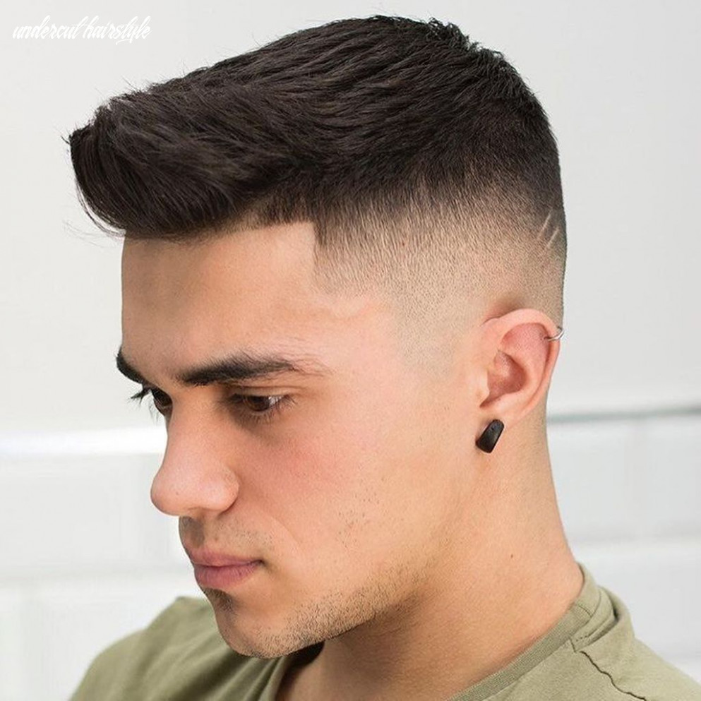 11 wonderful undercut hairstyle ideas for men in this year