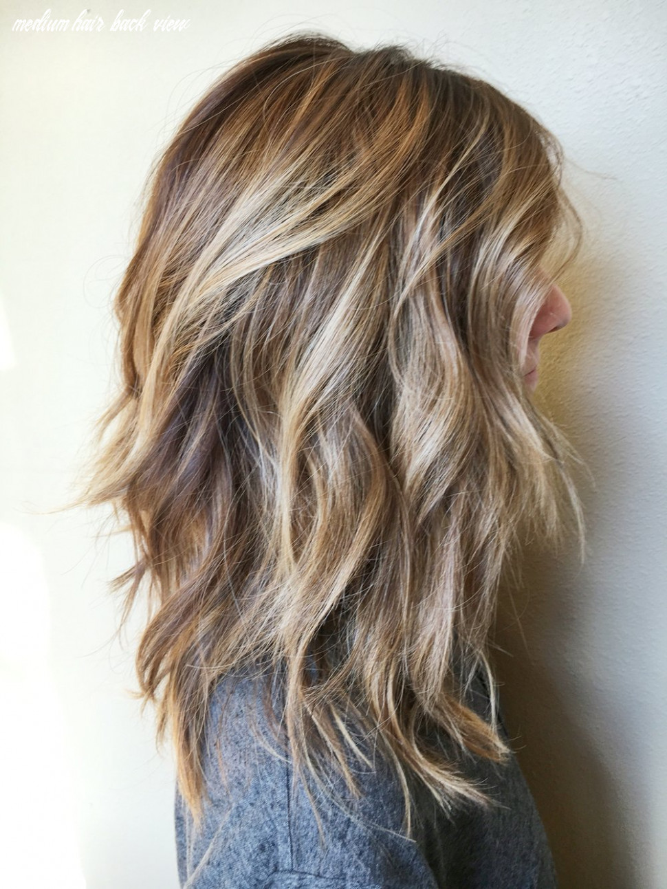 12 Amazing Medium Length Hairstyles & Shoulder Length Haircuts 12