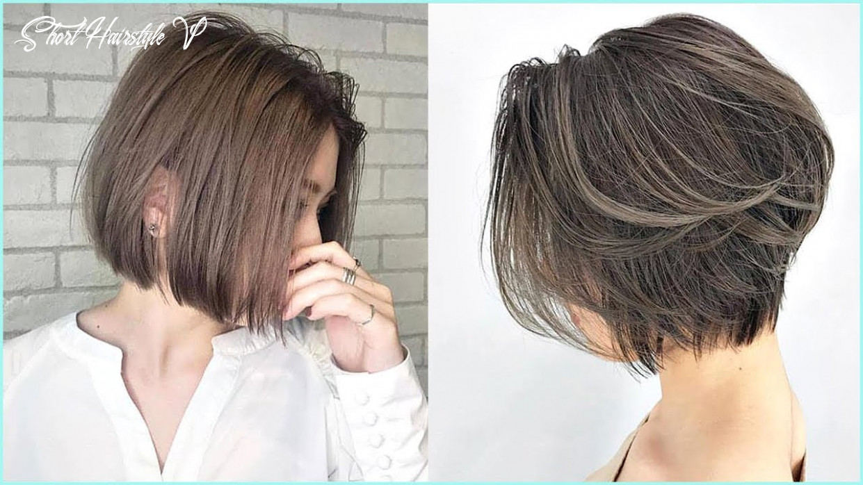 12 amazing short haircut for women 😍professional haircut #12 short hairstyle v
