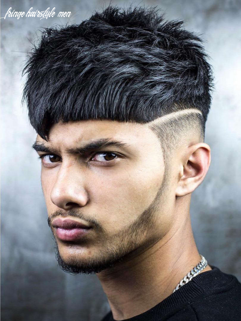 12 angular fringe haircuts: an unexpected 12 trend fringe hairstyle men
