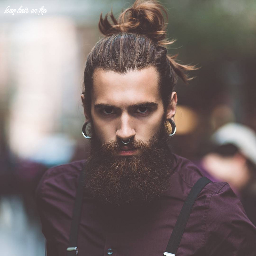 12 attractive long hairstyles for men to look more handsome sensod long hair on top