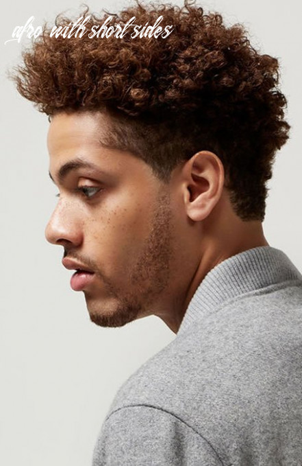 12 awesome afro hairstyles for men in 12 the trend spotter afro with short sides