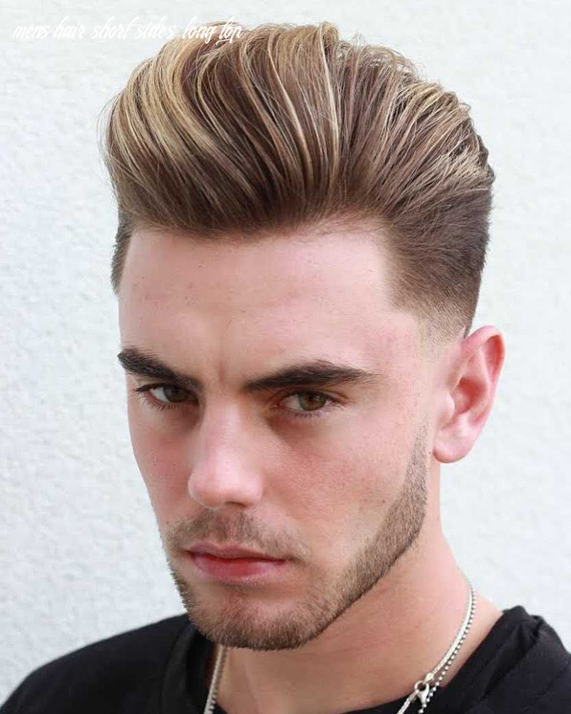 12 awesome examples of short sides, long top haircuts for men
