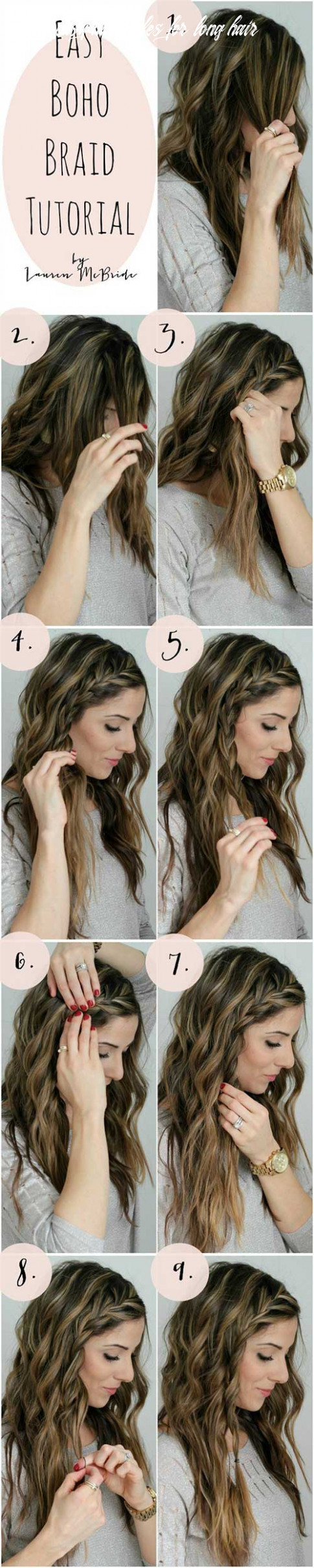 12 awesome hairstyles for girls with long hair quick easy hairstyles for long hair