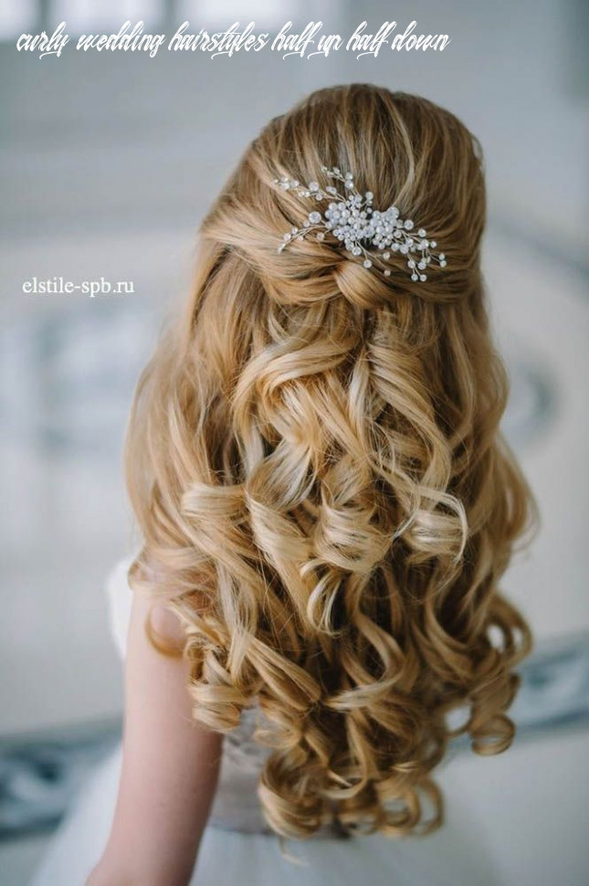 12 awesome half up half down wedding hairstyle ideas | frisur