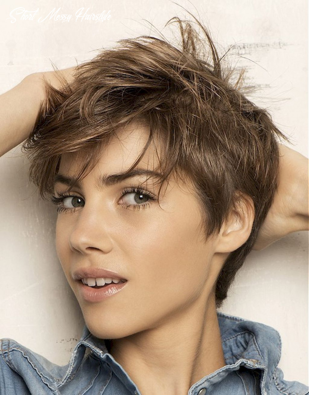 12 awesome messy hairstyles for short hair   messy short hair