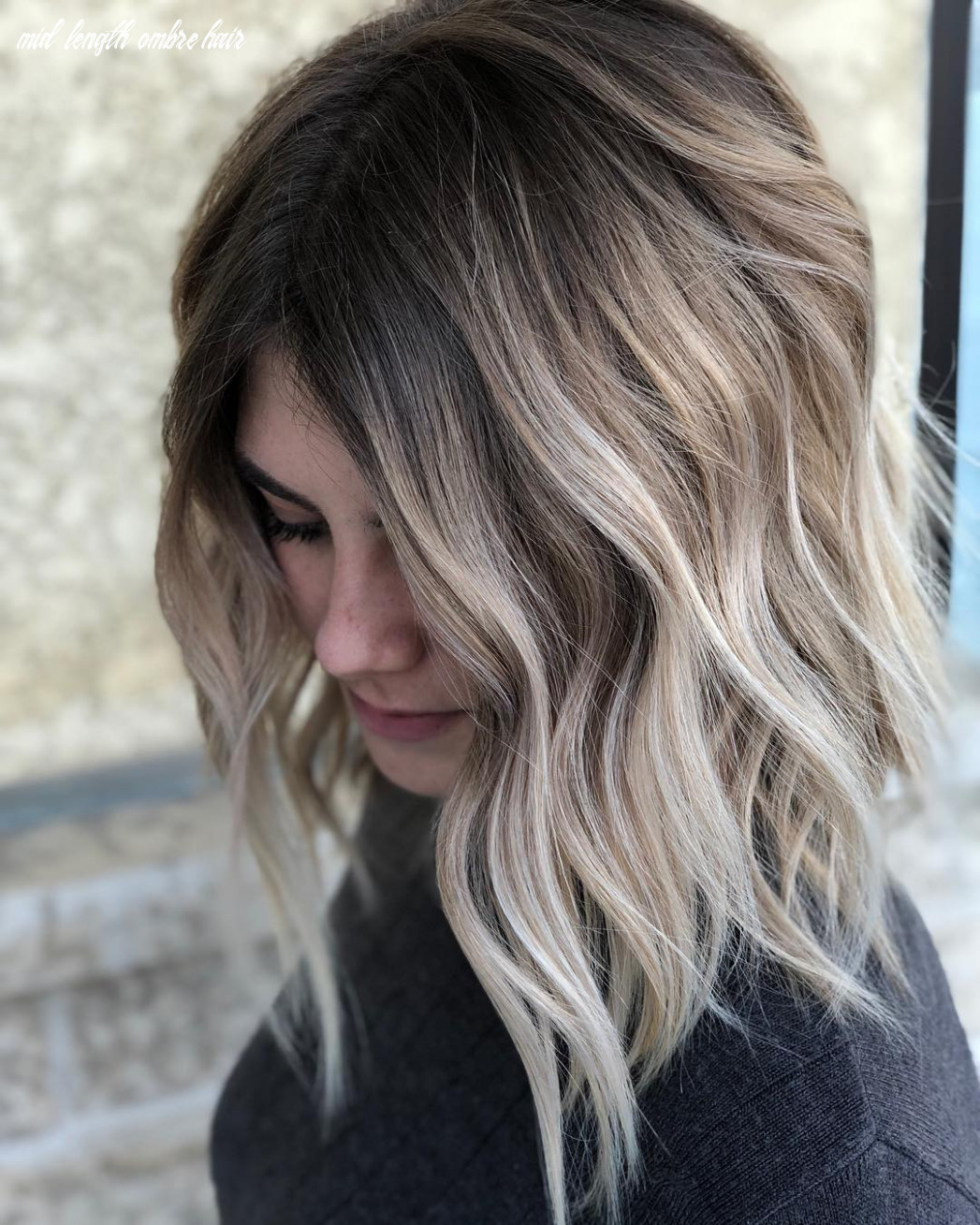 12 balayage ombre hair styles for shoulder length hair, women