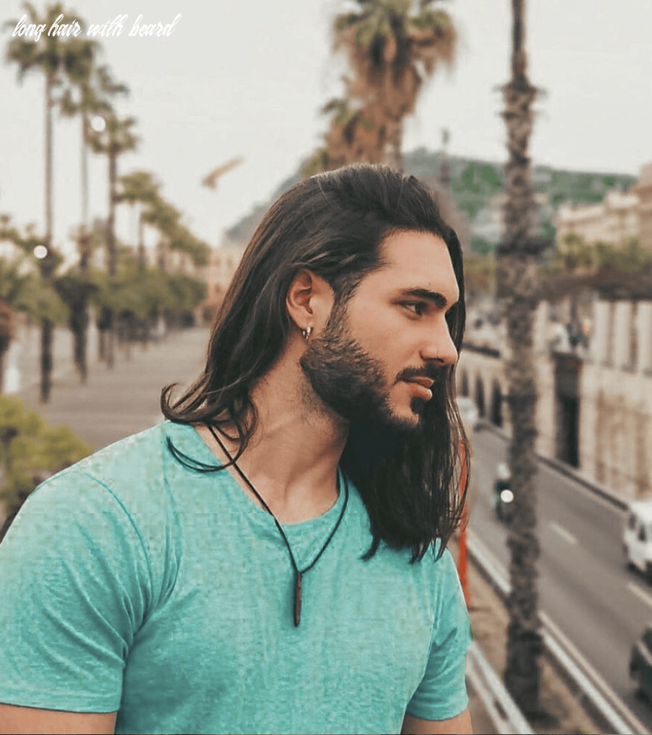 12 barber approved long hairstyles for men hairstyle on point long hair with beard