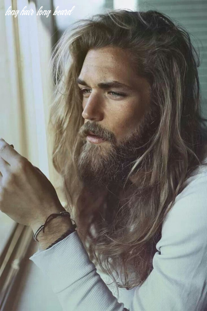12 beard hairstyles for men to try this year | long hair styles