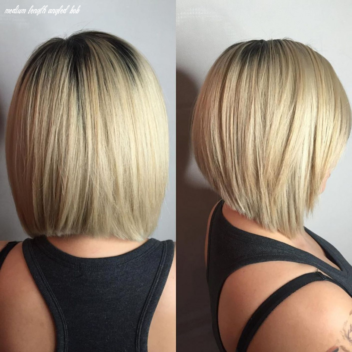 12 beautiful and convenient medium bob hairstyles in 12 | angled