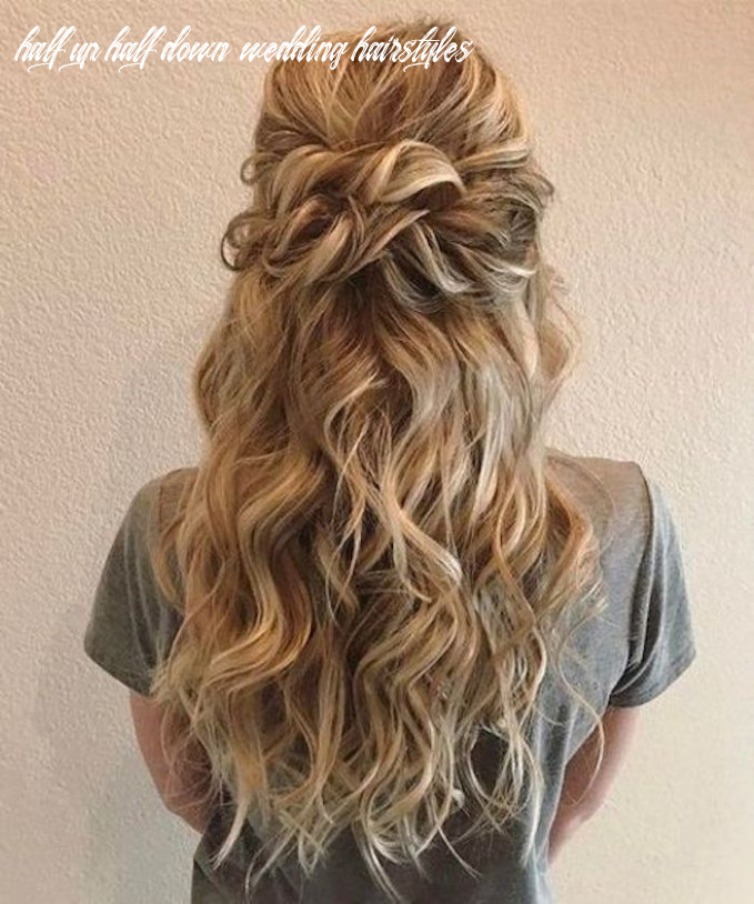 12 beautiful half up half down hairstyles for the modern bride