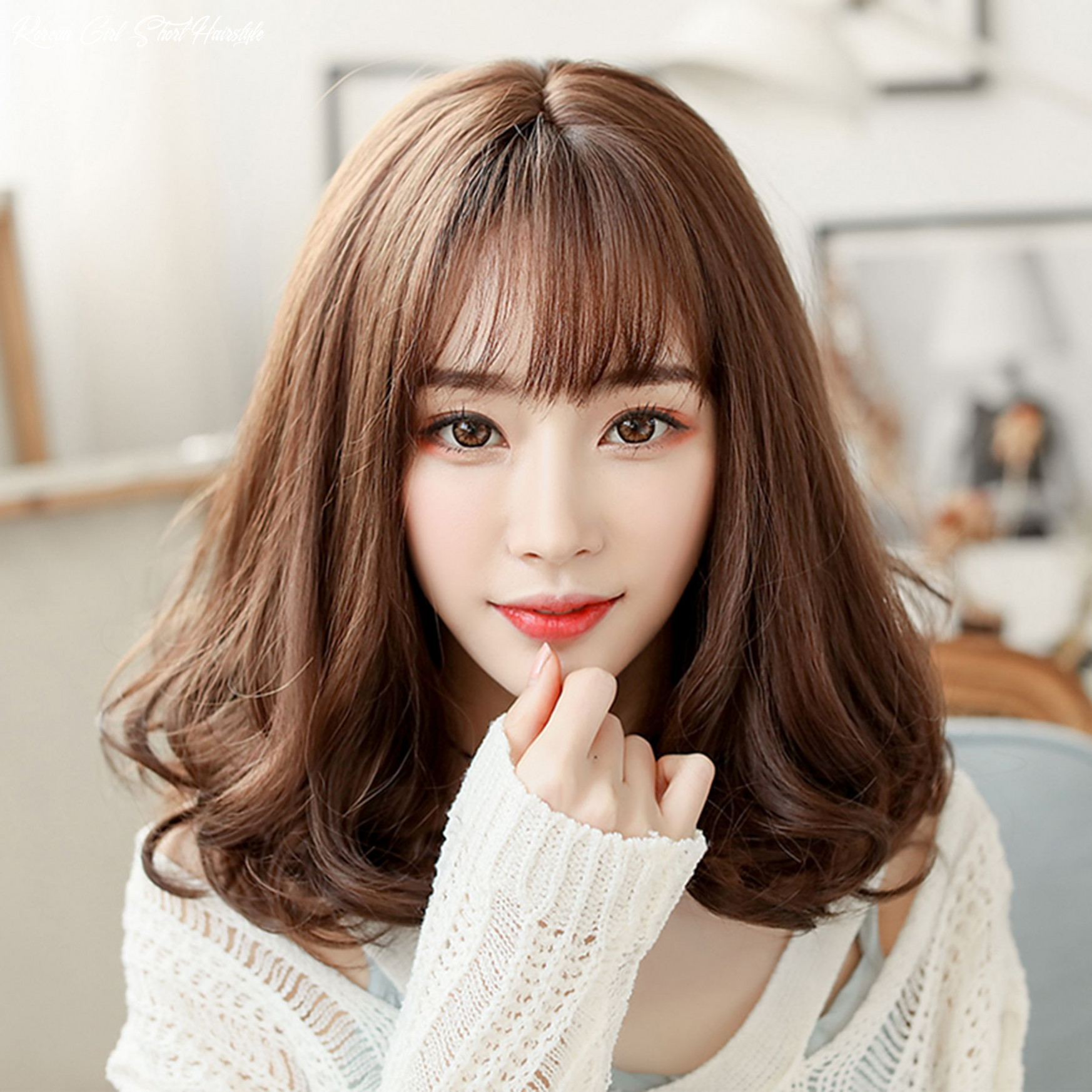 12 Beautiful Korean Girl Hairstyles Suitable for Millennials ...