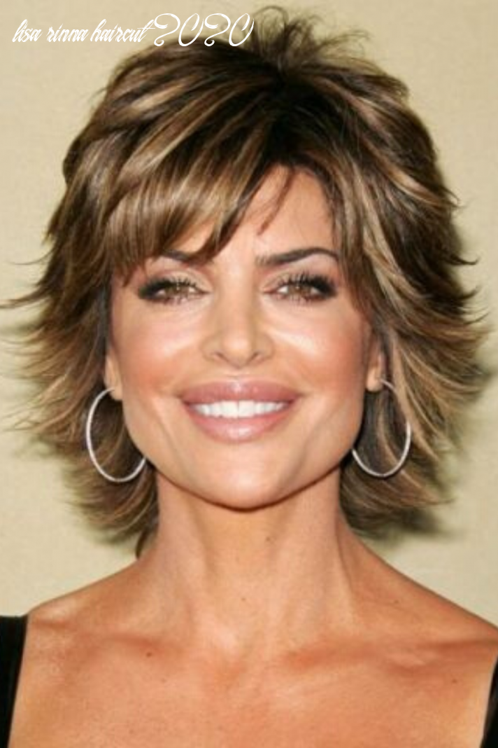 12 beautiful short feathered hairstyles in 12 | lisa rinna