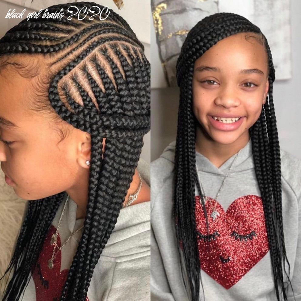 12 best black kids hairstyles with beads hairstyle in 12 black girl braids 2020