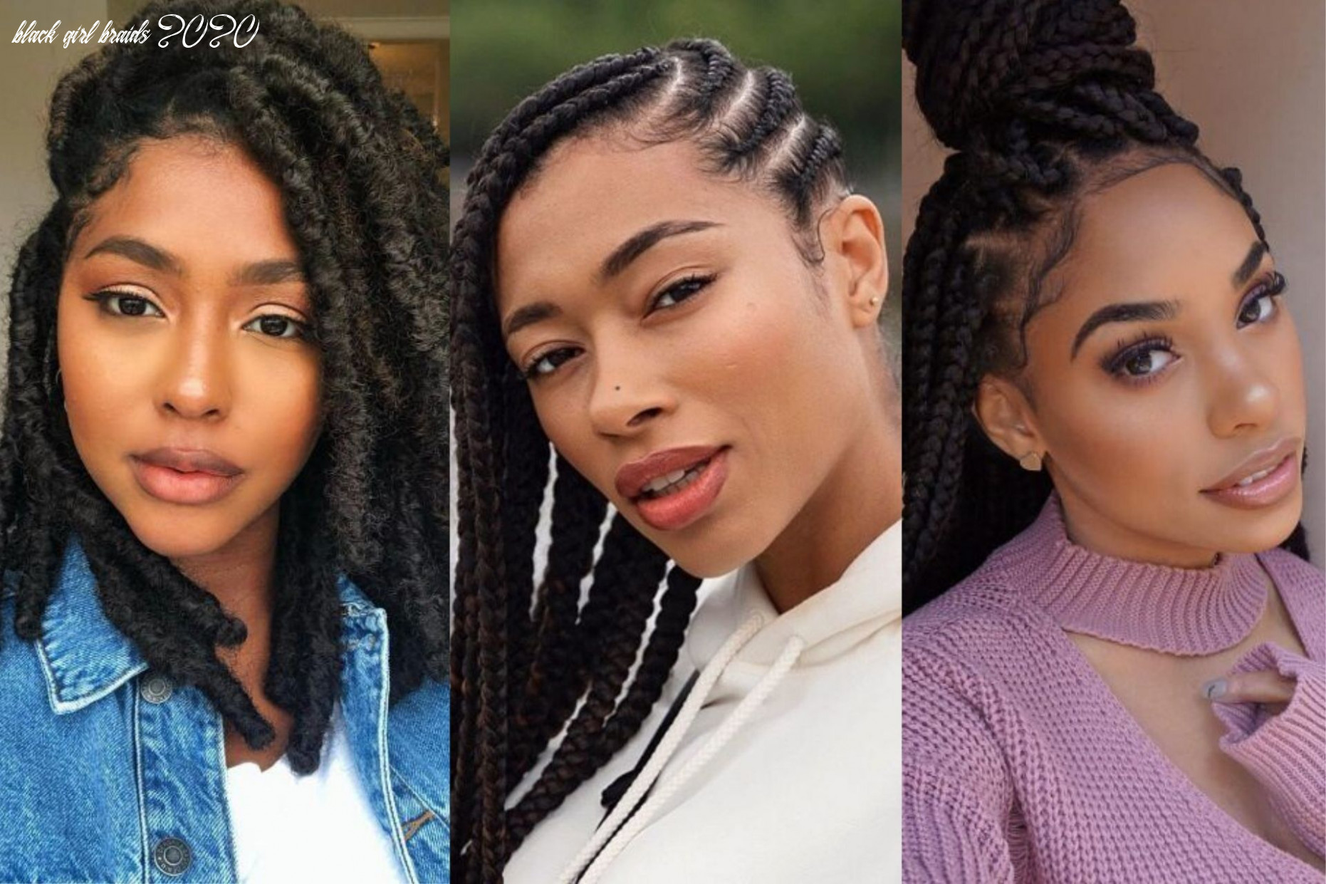 12 best braided hairstyles for black women to try in 12 black girl braids 2020