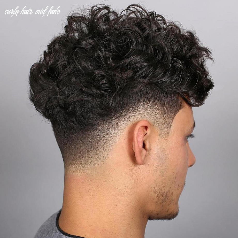 12 best drop fade haircut ideas for men in 1212 curly hair mid fade