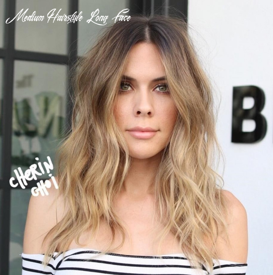 12 best haircuts for long faces in 12 hair adviser medium hairstyle long face