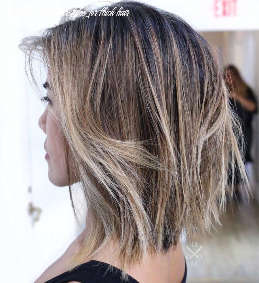 12 best haircuts for thick hair in 12 hair adviser shoulder length hairstyles for thick hair