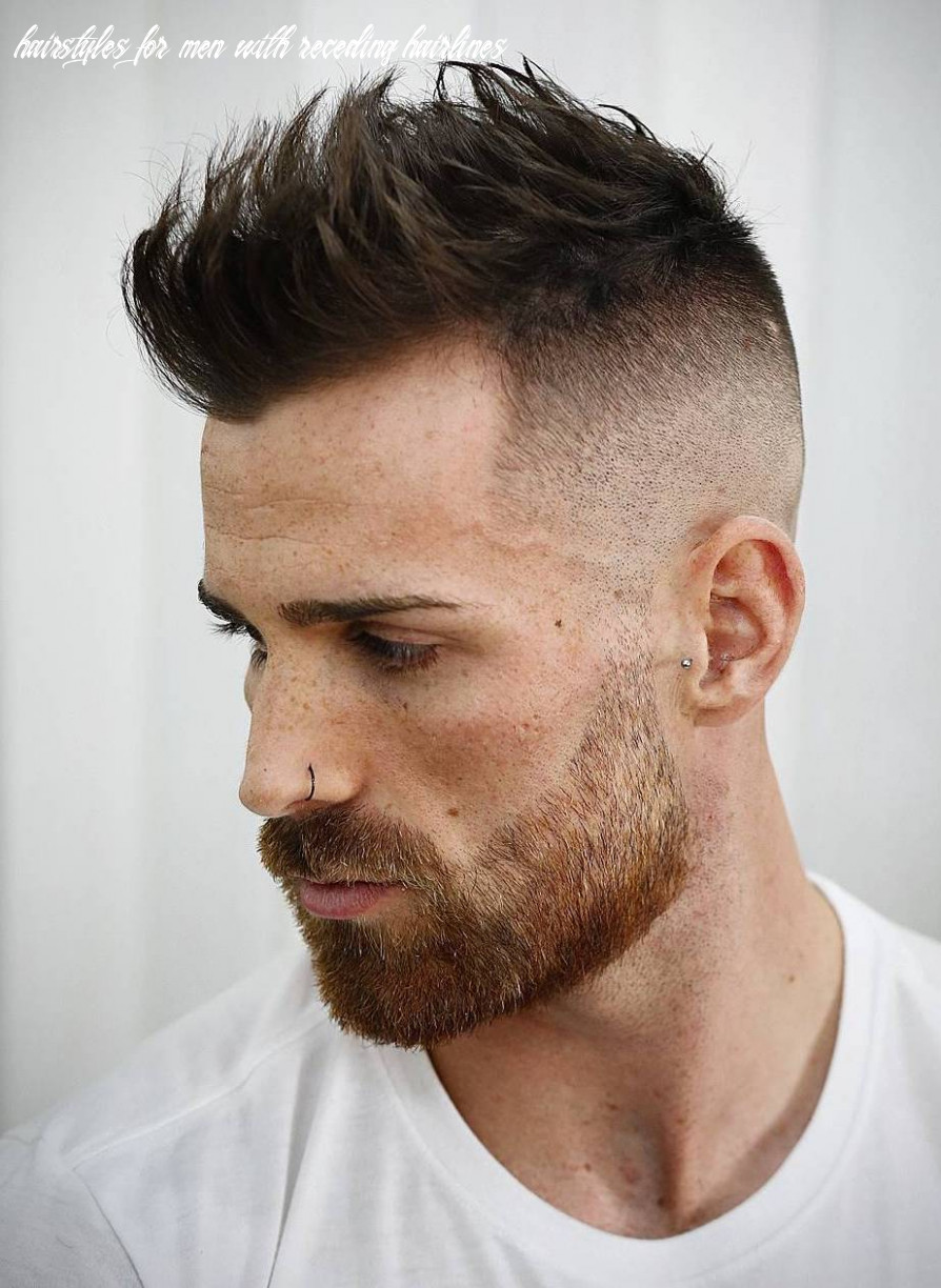 12 best hairstyles for a receding hairline (extended) hairstyles for men with receding hairlines