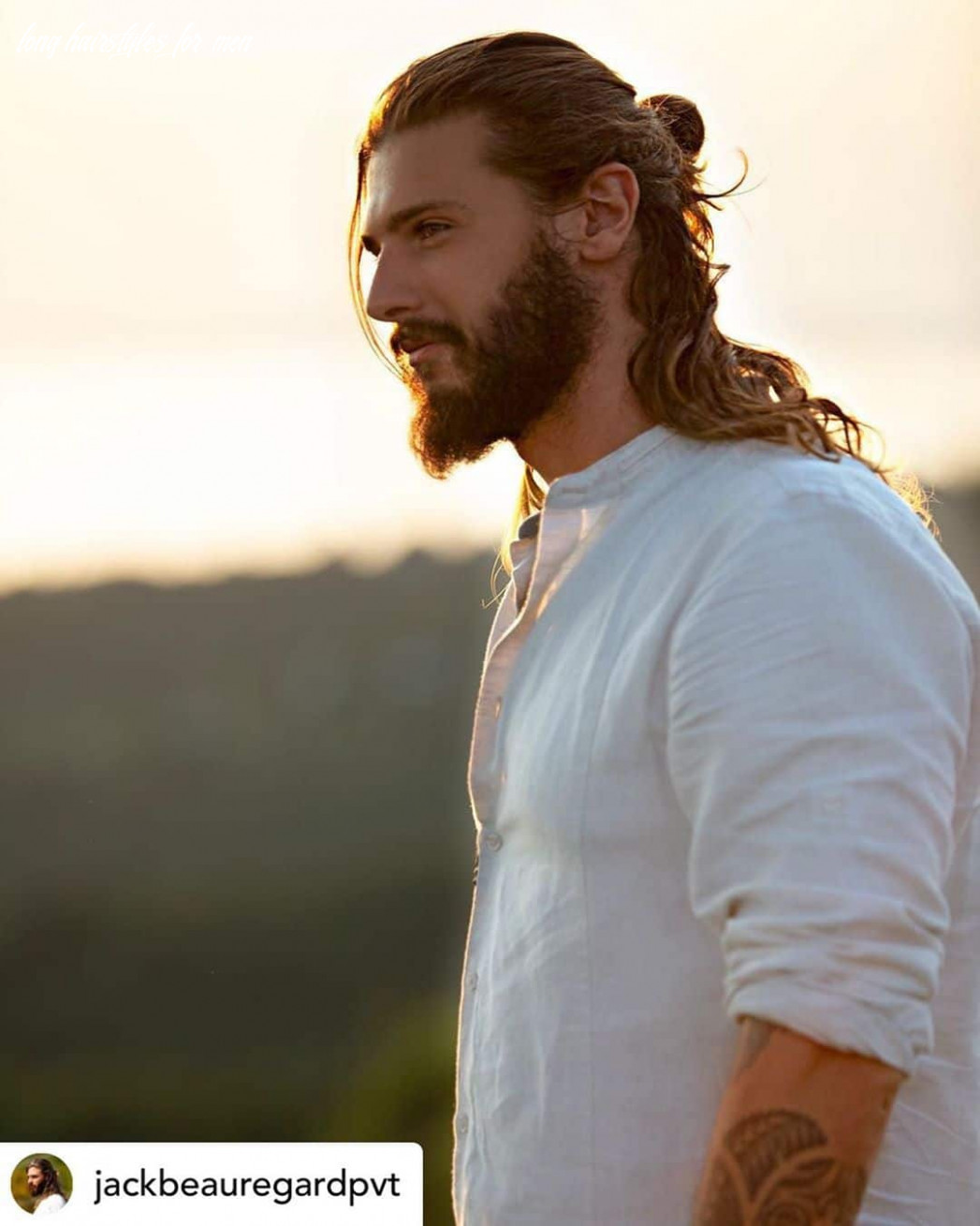12 Best Hairstyles for Men With Long Hair (newly updated ...