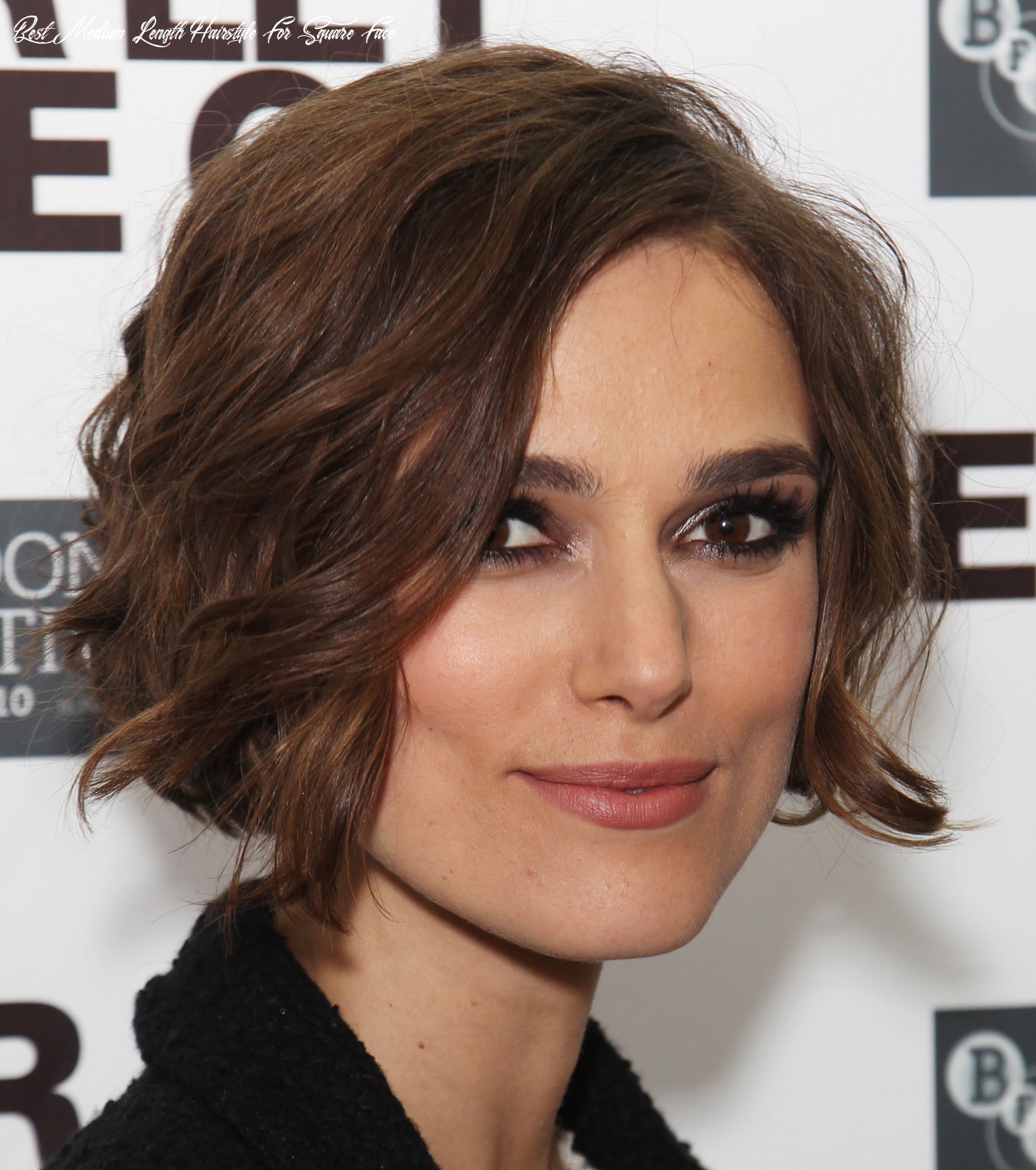 12 best hairstyles for square faces rounding the angles best medium length hairstyle for square face