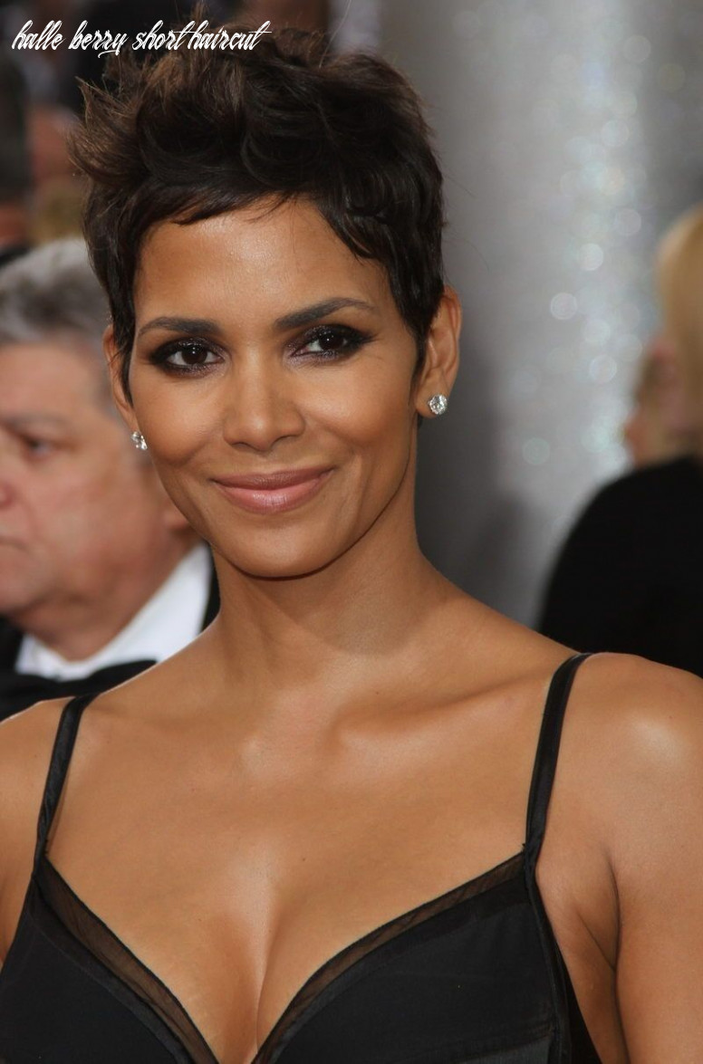 12 best halle berry very short haircuts | halle berry frisur