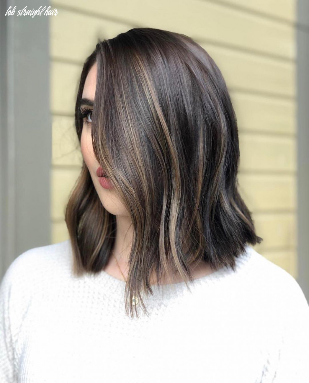 12 best lob haircuts & hairstyles | how to style your long bob lob straight hair