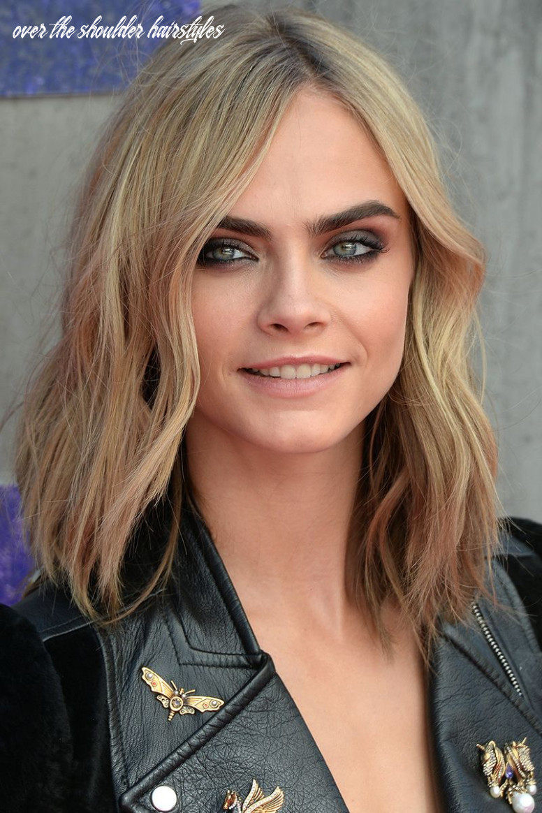 12 Best Medium Hairstyles - Celebrities With Shoulder Length Haircuts