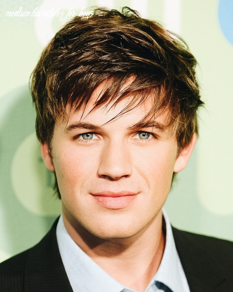 12 best medium length haircuts for men and how to style them medium hairstyles for boys