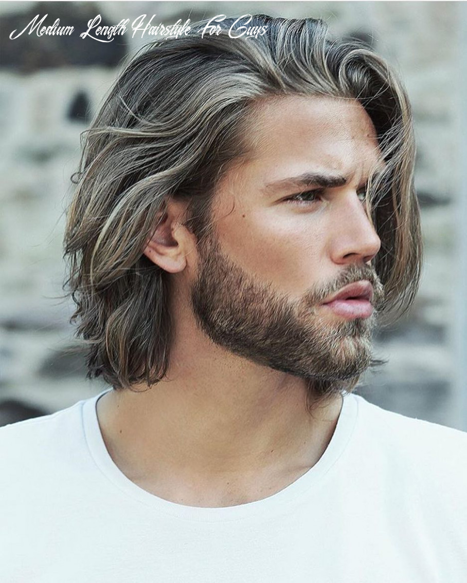12 Best Medium Length Hairstyles and Haircuts for Men - 12 ...
