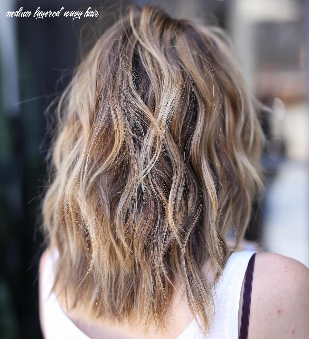 12 best medium length layered haircuts in 12 hair adviser medium layered wavy hair