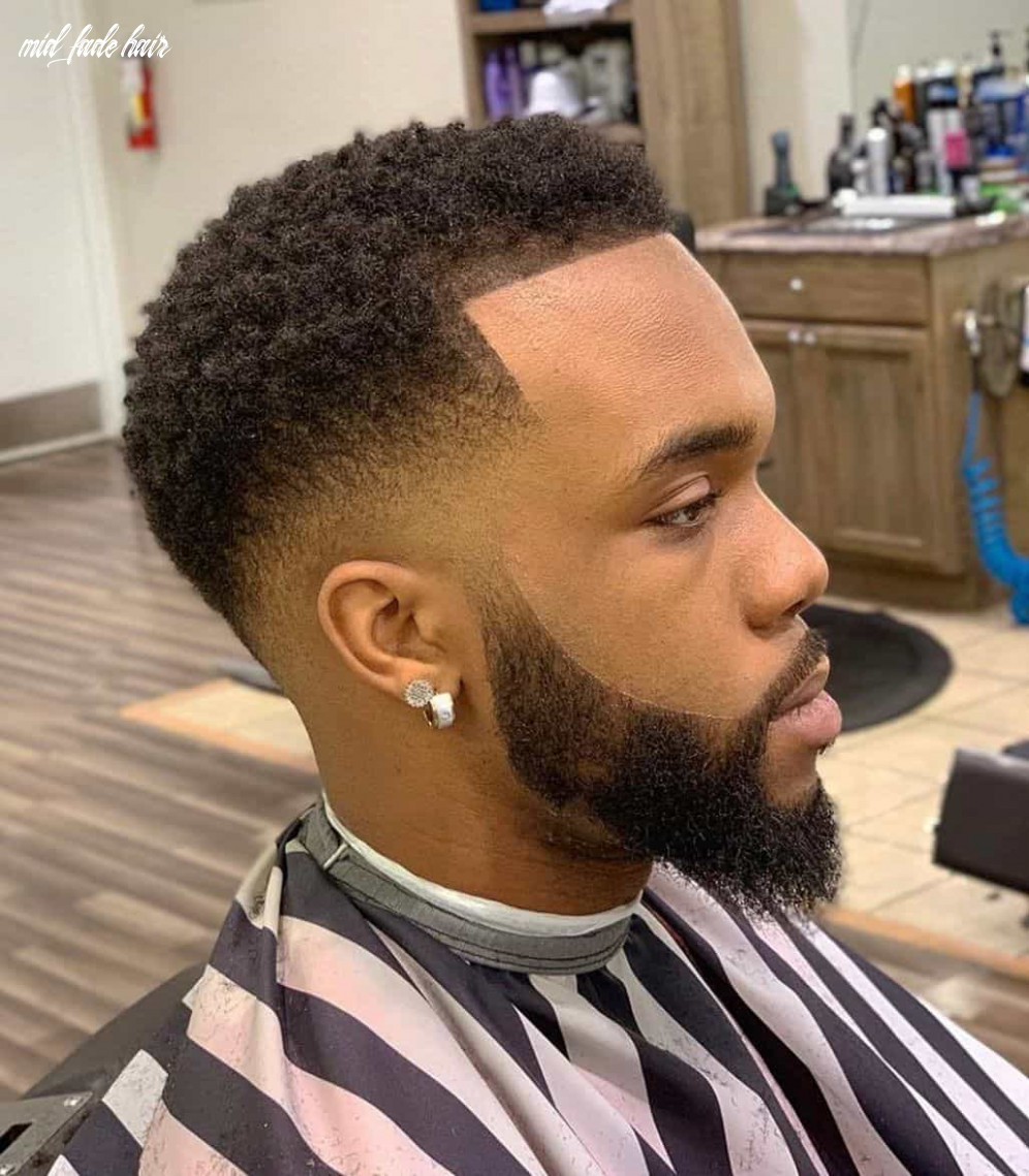 12 best mid fade haircuts in 12 mid fade hair