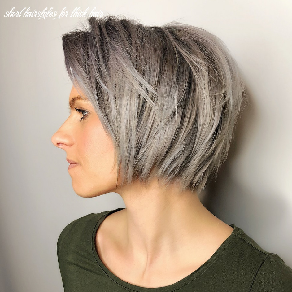 12 Best Short Hairstyles for Thick Hair in 12 - Hair Adviser