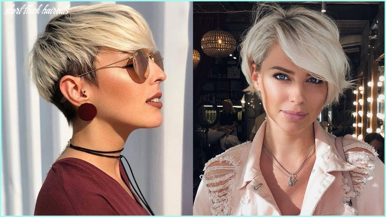 12 best short hairstyles for thick hair – short haircuts for women short thick haircuts