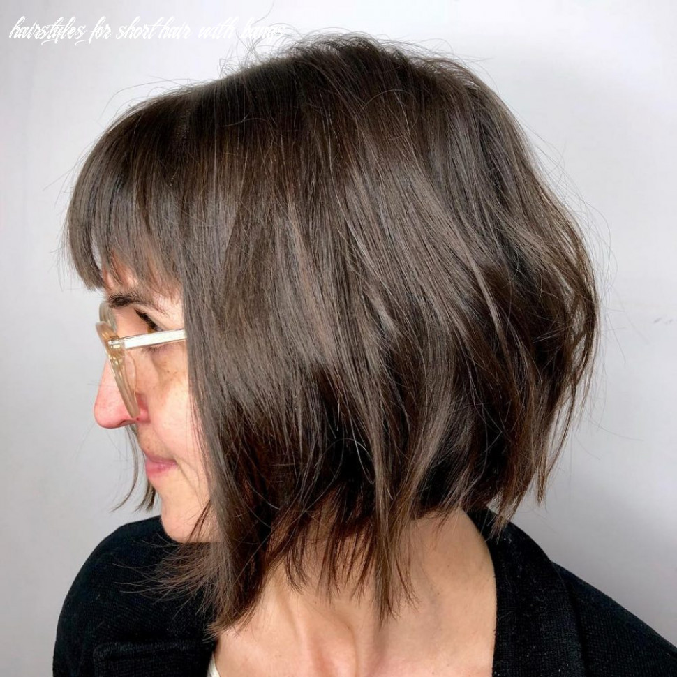 12 best short hairstyles for thin hair to look cute hairstyles for short hair with bangs