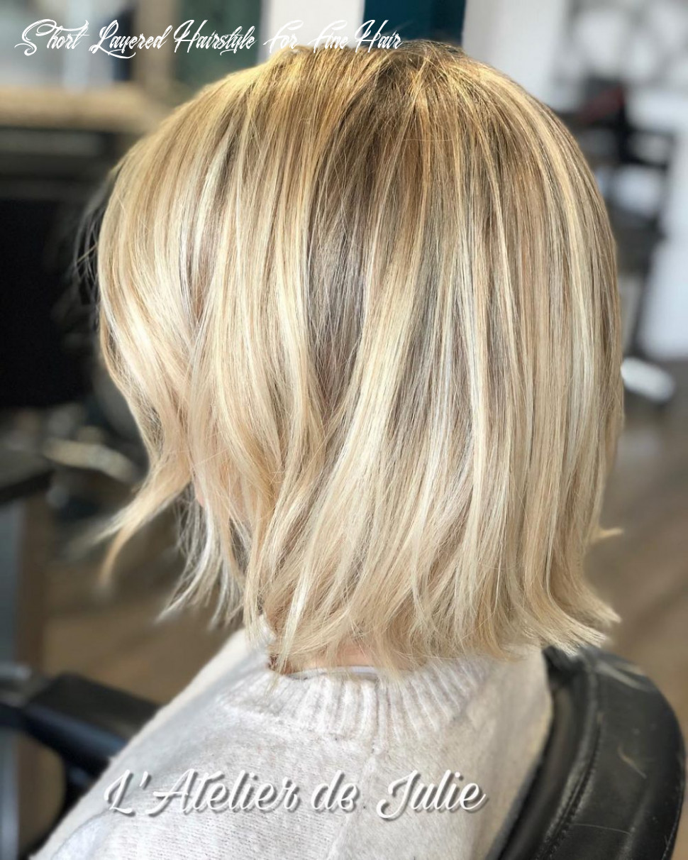 12 best short hairstyles for thin hair to look cute short layered hairstyle for fine hair