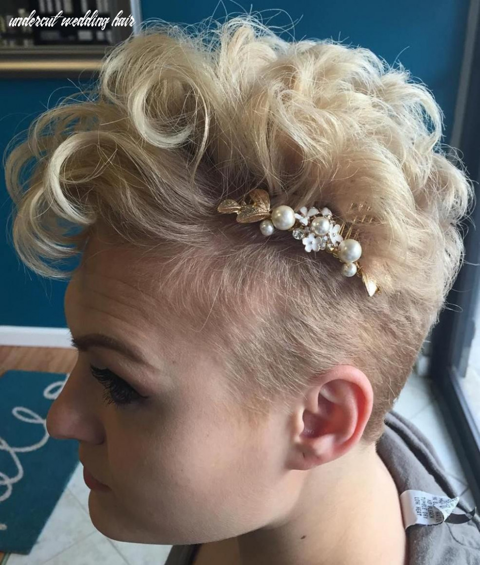"12 best short wedding hairstyles that make you say ""wow!"" 