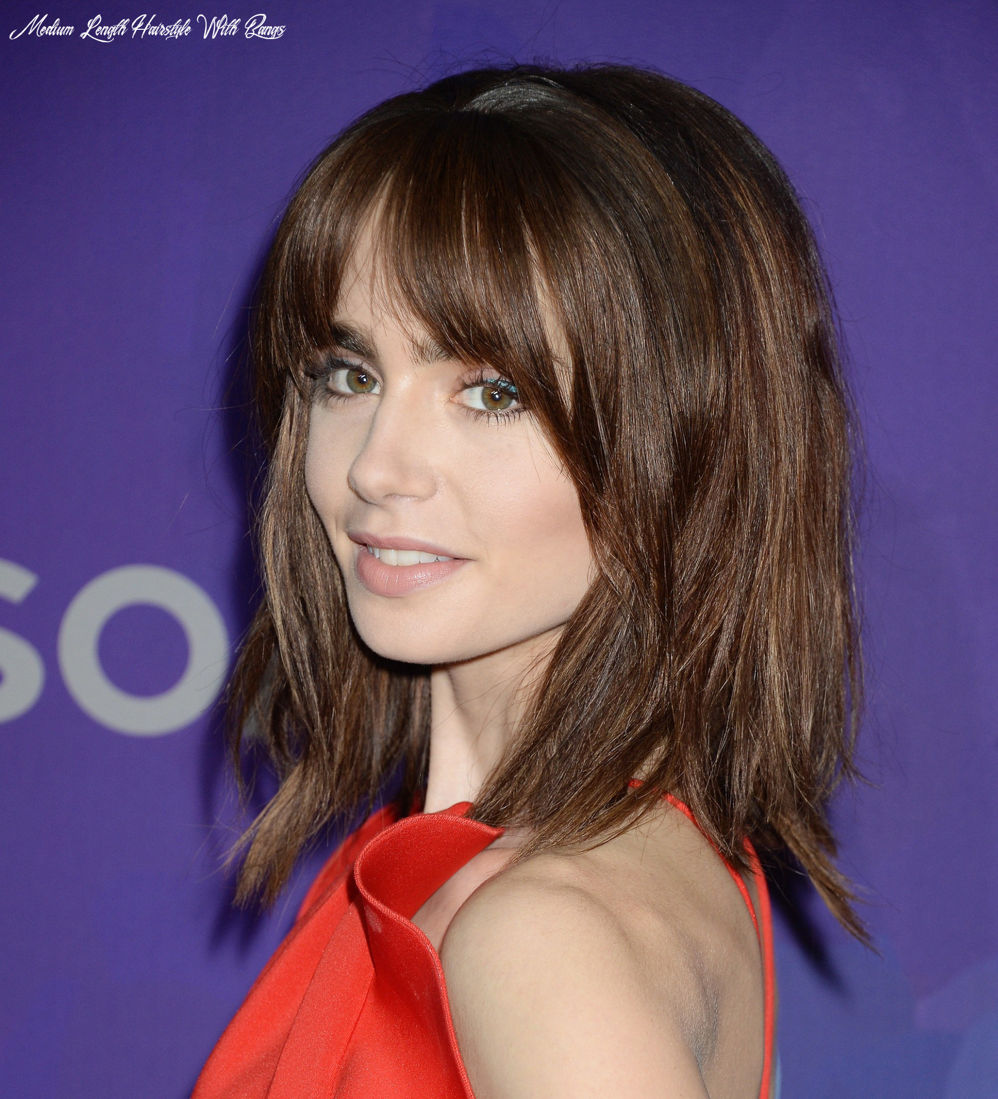 12 best shoulder length layered haircut photos 12 medium length hairstyle with bangs