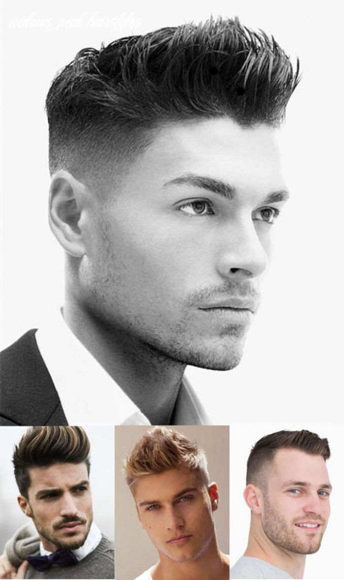 12 Best Widow's Peak Hairstyles For Men | Mens haircuts fade, Fade ...
